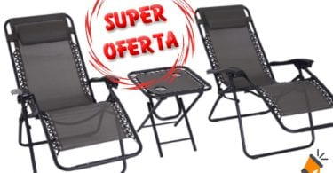 oferta Outsunny tumbonas baratas SuperChollos