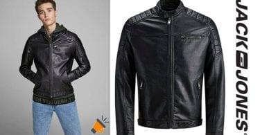 oferta jack jones chaqueta motera barata SuperChollos