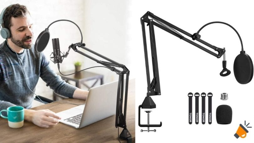 soporte microfono tonor barato 2 SuperChollos