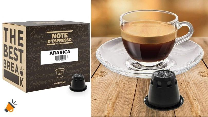 capsulas note espresso arabica baratas SuperChollos