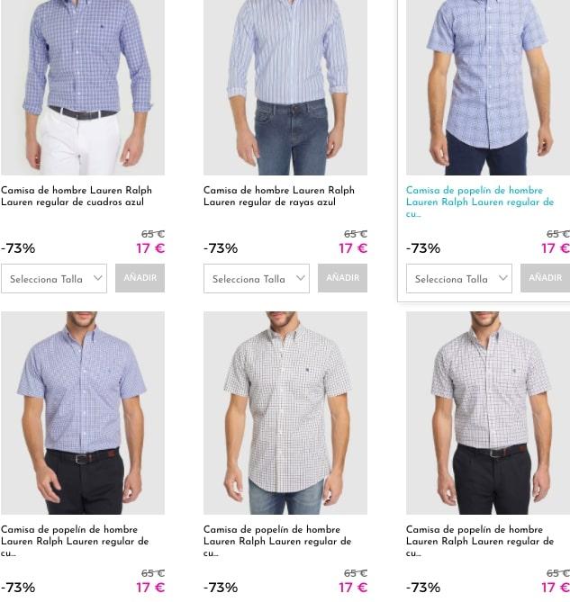 camisas lauren ralph baratas1 1 SuperChollos