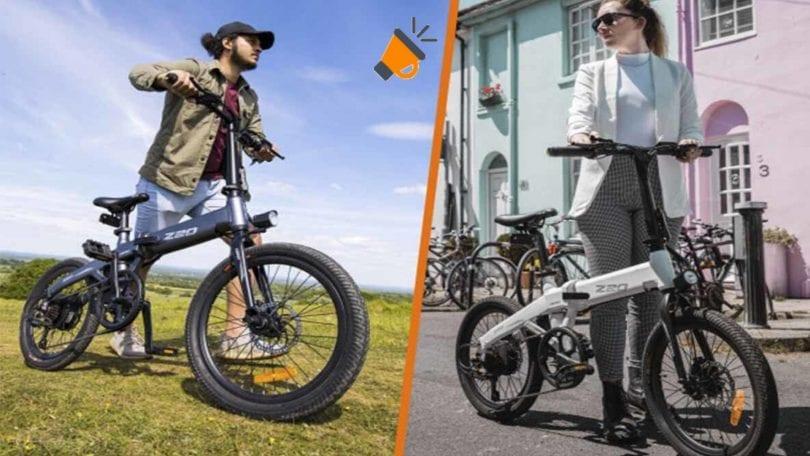 oferta HIMO Z20 bicicleta electrica barata SuperChollos