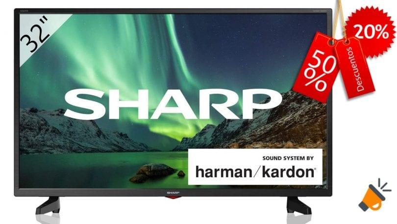 oferta Sharp 32BB3E barata SuperChollos