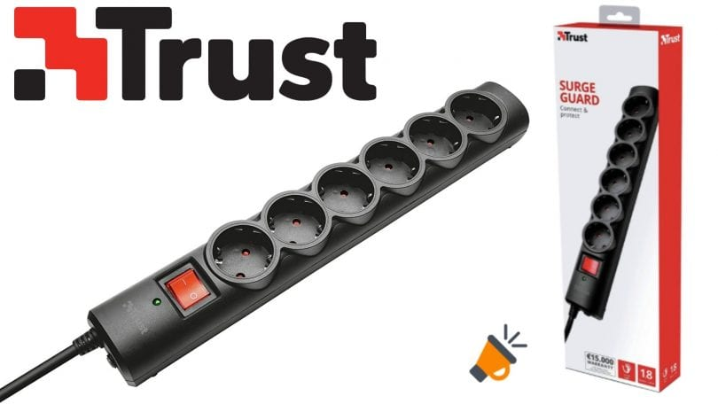 oferta Trust 21059 Regleta barata SuperChollos