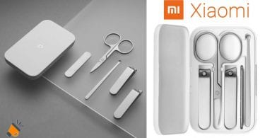 oferta Kit de manicura Xiaomi Mijia barata SuperChollos