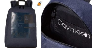 oferta Calvin Klein Layered Round Backpack mochila barata SuperChollos