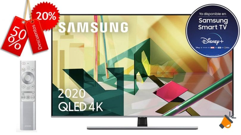 oferta Smart TV Samsung QE65Q75T barata SuperChollos