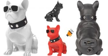 oferta altavoz bluetooth bulldog barato SuperChollos