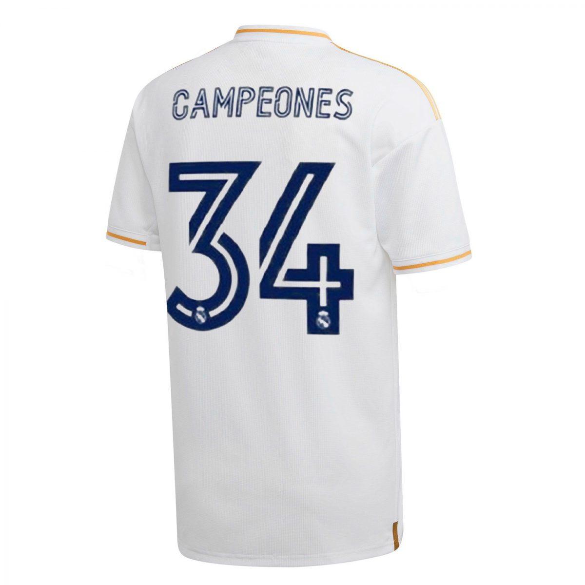 Camiseta Real Madrid Campeones barata scaled SuperChollos