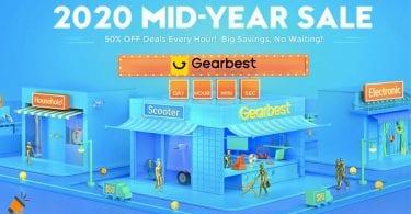 gearbest mid year sale SuperChollos
