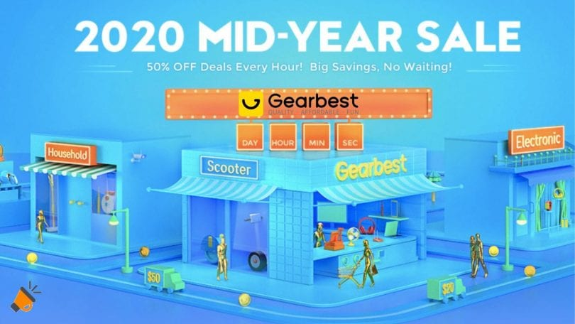 gearbest mid year sale SuperChollos