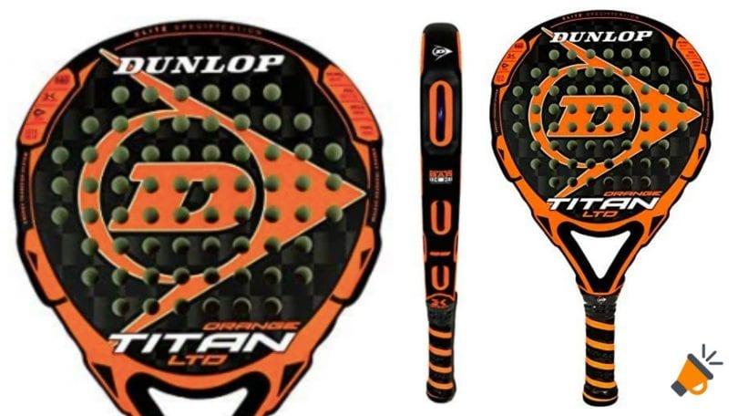 oferta Dunlop Titan LTD Orange barata SuperChollos