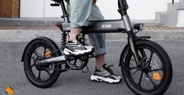 oferta bicicleta electrica HIMO Z16 barata SuperChollos