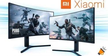 oferta Monitor Gaming Curvo Xiaomi barato SuperChollos
