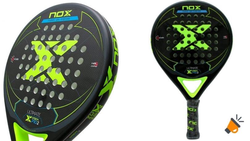 oferta NOX Pala pa%CC%81del Ultimate Carbon Pro 2 barata SuperChollos