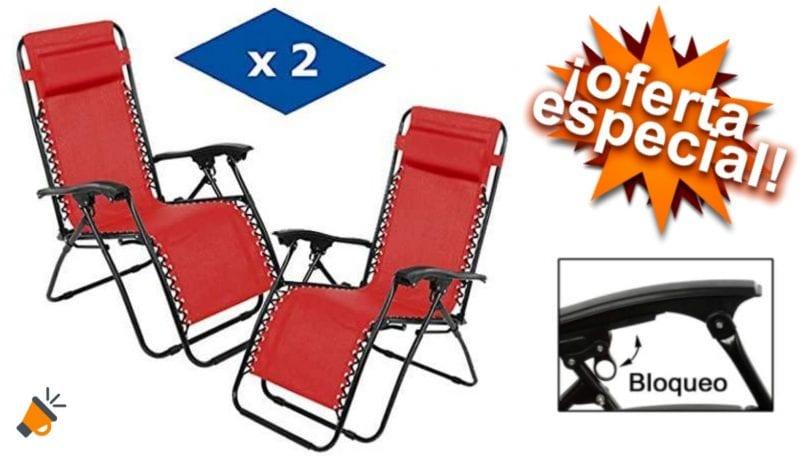 oferta VIP HOGAR tumbonas baratas SuperChollos