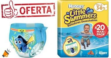 oferta Huggies Little Swimmers baratos SuperChollos