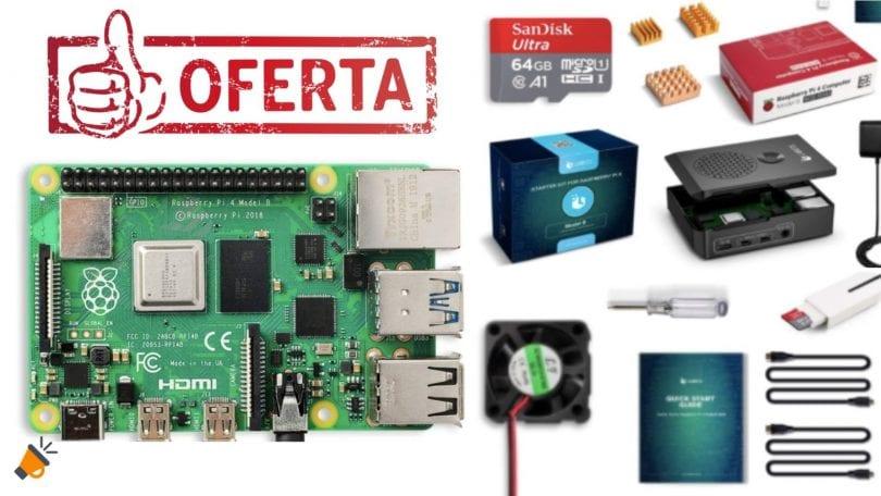 oferta Raspberry Pi 4 barata SuperChollos
