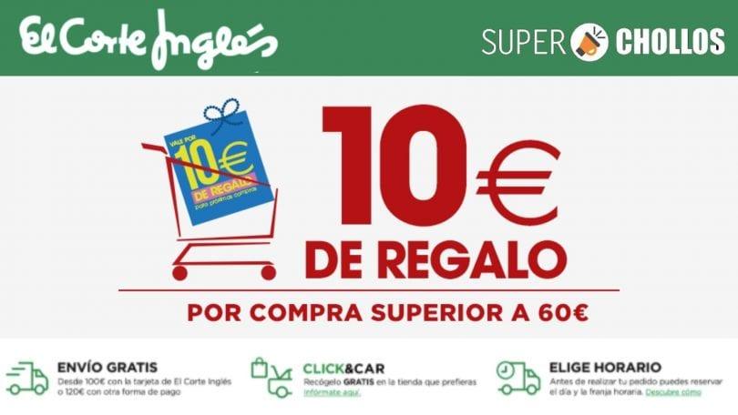 corte ingles 10%E2%82%AC gratis SuperChollos