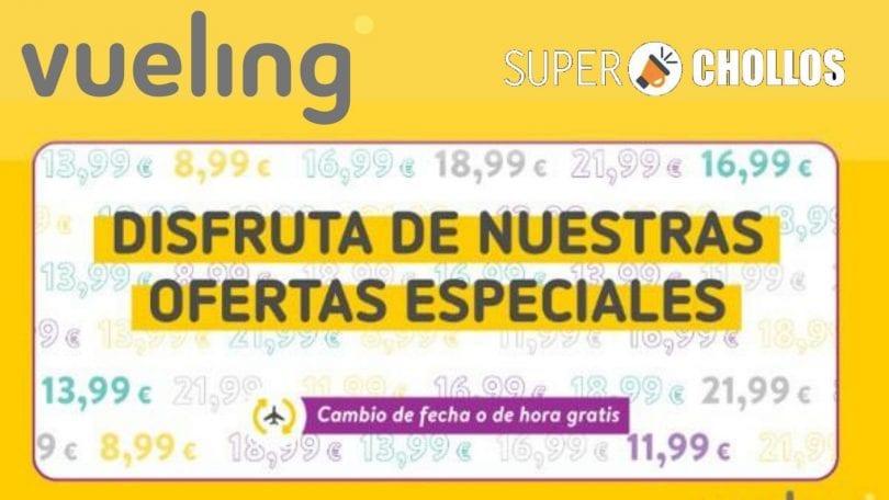 ofertas especiales vueling SuperChollos