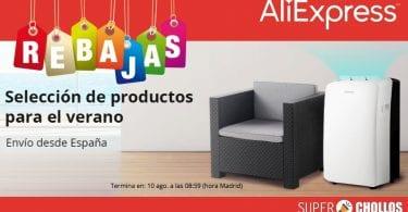 aliexpress productos verano baratos SuperChollos