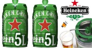 oferta Barriles cerveza Heineken baratos SuperChollos