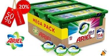 oferta ariel 3 1 pods baratas SuperChollos
