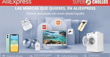 aliexpress semana marcas SuperChollos