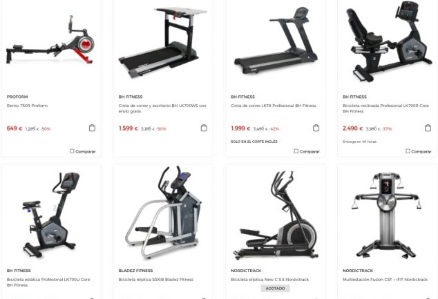 maquinas fitness baratas SuperChollos