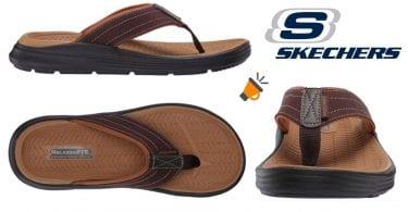 oferta Skechers Sargo Reyon chanclas baratas SuperChollos