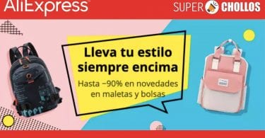 aliexpres mochilas baratas SuperChollos
