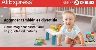 aliexpress juguetes educativos baratos SuperChollos