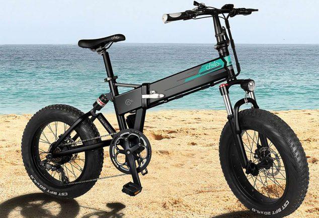 bicicleta plegable doble suspension barata bajo coste fiido m1 SuperChollos