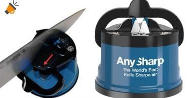 oferta Afilador cuchillos AnySharp barato SuperChollos