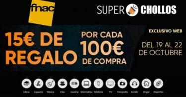 Cupo%CC%81n Regalo 15E en Fnac SuperChollos