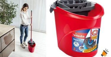 oferta Cubo de fregar Vileda Professional Superfa%CC%81cil barato SuperChollos