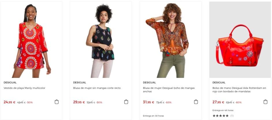 corte ingles ropa desigual barata SuperChollos