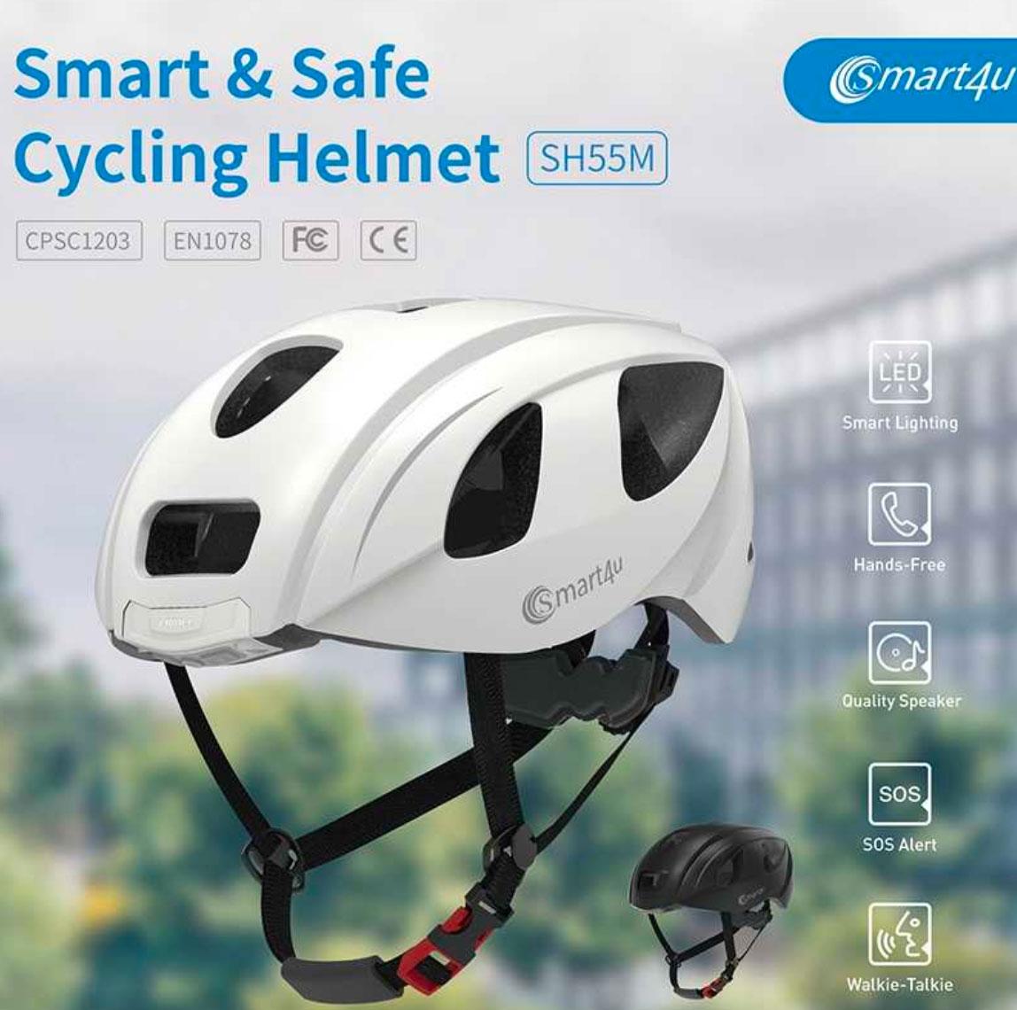 casco smart4u SuperChollos