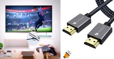 oferta iVANKY Cable HDMI barato SuperChollos