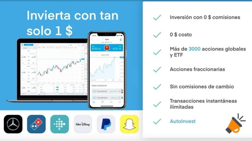 trading212 accion gratis SuperChollos