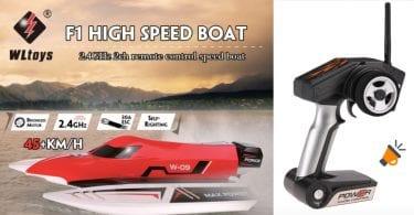 oferta Barco teledirigido WL915 barato SuperChollos