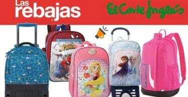OFERTA cortes ingles mochilas escolares baratas SuperChollos