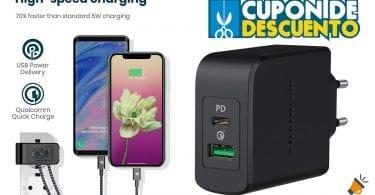 oferta RAMPOW Cargador Pared con USB C Power Delivery barato SuperChollos