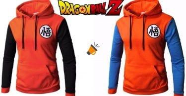 oferta Sudadera con capucha de Dragon Ball barata SuperChollos