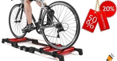 oferta Rodillo de entrenamiento para bicicleta barato SuperChollos