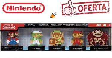 oferta Figuras Nintendo 8bits baratas SuperChollos