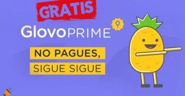Glovo Prime GRATIS SuperChollos