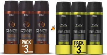 OFERTA pack desodorante axe BARATO SuperChollos