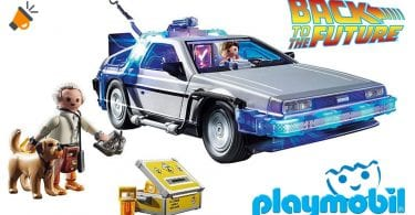 oferta delorean regreso al futuro playmobil barato SuperChollos