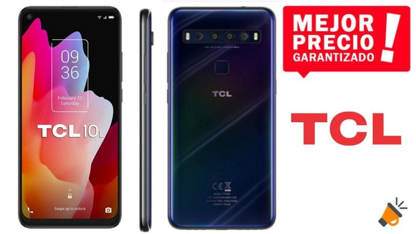 oferta TCL 10L barato SuperChollos